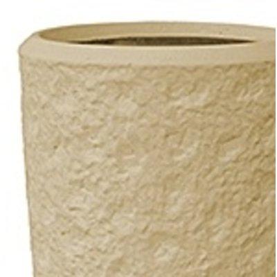 Polystone - Kunststof pot - Partner Rockwell Natural - H 90cm