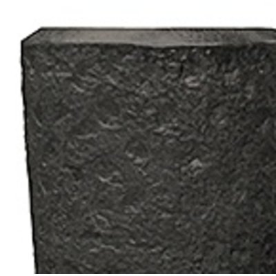 Polystone - Kunststof pot - Partner Rockwell Smoke - H 90cm