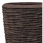 Polystone - Kunststof pot - Partner Seaside Brown - H 120cm