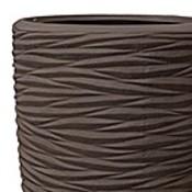 Polystone - Kunststof pot - Partner Seaside Brown - H 150cm