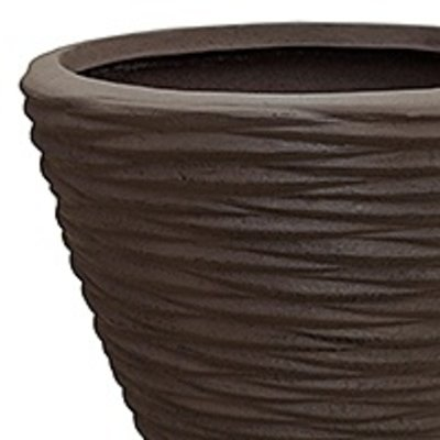 Polystone - Kunststof pot - Couple Seaside Brown - H 42cm