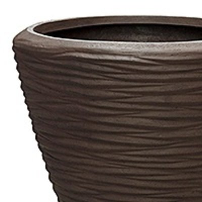 Polystone - Kunststof pot - Couple Seaside Brown - H 51cm