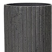 Polystone Lourdee - Kunststof pot - Cylinder Brown - H 90cm