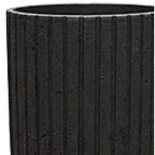 Polystone Lourdee - Kunststof pot - Cylinder Smoke - H 70cm