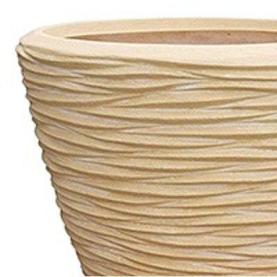 Polystone - Kunststof pot - Couple Seaside Natural White - H 51cm