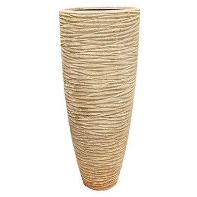 Polystone - Kunststof pot - Partner Seaside Natural White - H 150cm