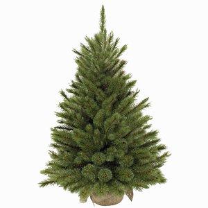 Forest Frosted Pine - Grün mit Jute Fuß - Triumph Tree künstlicher Weihnachtsbaum