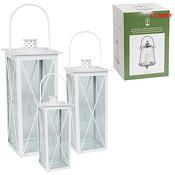 Set van 3 lantaarns, serie Wenen wit