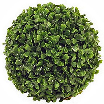 Kunstplant Buxus bol Groen - D 40cm - UV resistant - Mica Decorations
