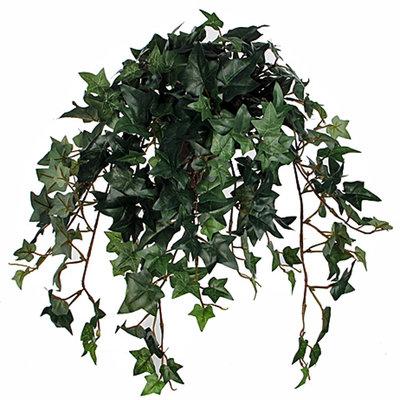 Kunstplant Hedera Groen - L 45cm - Keramiek sierpot - Mica Decorations