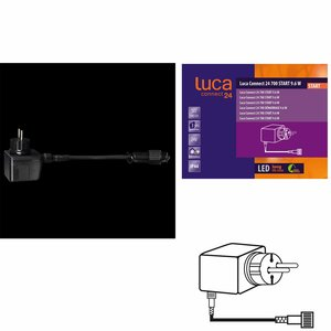 LUCA Connect 24V - START Trafostekker voor 700 lights - 9.6W
