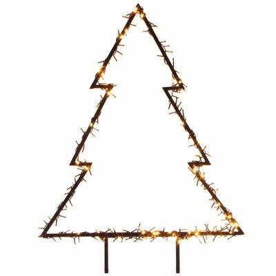 Beleuchteter Weihnachtsbaum für den Garten - 75 cm hoch - 175 LED-Leuchten - LUCA Lighting
