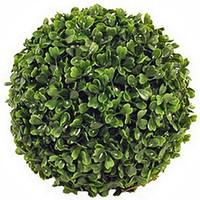 Kunstplant Buxus bol Groen - D 36cm - UV resistant - Mica Decorations