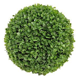 Kunstplant Buxus bol Groen - D 25cm - UV resistant - Voor buiten en binnen - Mica Decorations
