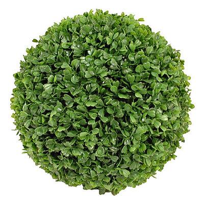 Kunstplant Buxus bol Groen - D 50cm - UV resistant - Mica Decorations