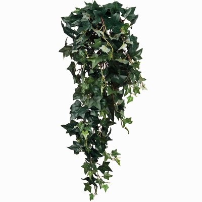 Kunstplant Hedera Groen - Steker L 80cm - Mica Decorations
