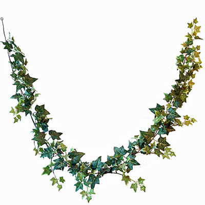Kunstplant Hedera Jamaica Guirlande Groen - L 180cm - Mica Decorations