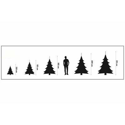 Aktion! Hamar LED - H 185cm - Grün - BlackBox künstlicher Weihnachtsbaum