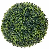 Kunstplant Buxus bol Groen - D 30cm - UV resistant - Mica Decorations