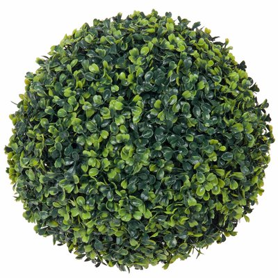 Künstliche Pflanze Buxus Kugel Grün - D 30cm - UV resistant - Mica Decorations