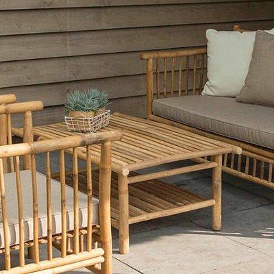 Bambus Lounge Couchtisch - Exotan