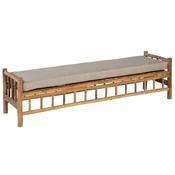 Bambus Sofa inklusive Kissen - Exotan