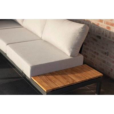 Lounge-Set 'Villa' - Anthrazit Aluminium - Inklusive Kissen - Exotan