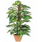 Kunstplant Dieffenbachia Groen - H 65cm - Campana sierpot - Mica Decorations