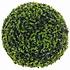 Kunstplant 27cm Buxus bol Theeblad Groen - D 27cm - Voor buiten en binnen - Mica Decorations