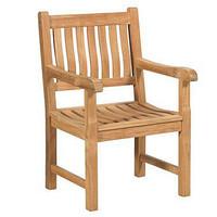 Teakholz Gartenstuhl Comfort - 1-Sitzer - Exotan