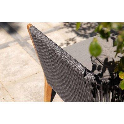 Loungesofa 'San Remo' - Aluminium, Rope en Teak - Inclusief kussens - Exotan - Copy