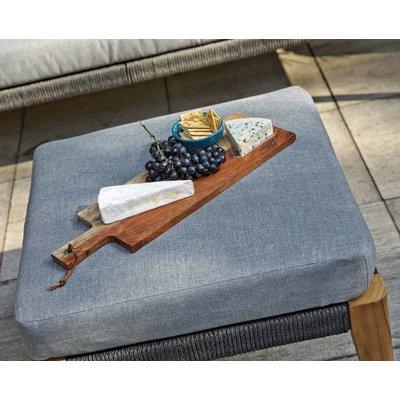 Loungeset 'San Remo' - Aluminium, Rope en Teak - Inclusief kussens - Exotan