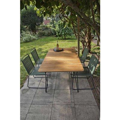 Ripp luxe dining tuinstoel - Groen - Exotan