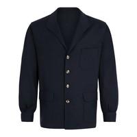 Wool Teba Jacket - Midnight Blue