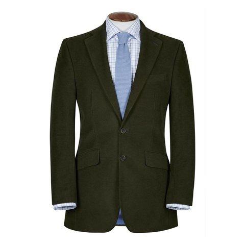 Eaton Jacket - Olive Moleskin