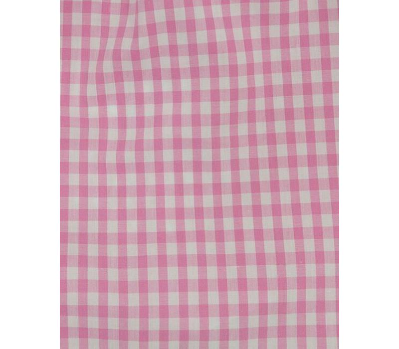 Cotton Boxer Shorts, Gingham - Pink