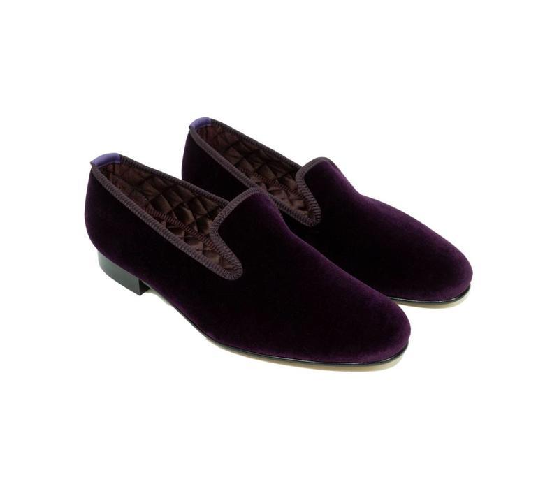 Velvet Slippers - Regal