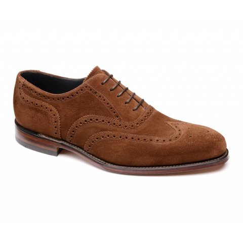 Inverness Suede Brogues