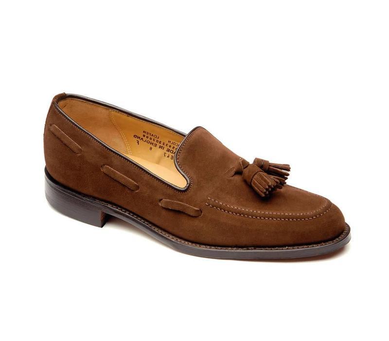 Suede Tassel Loafers
