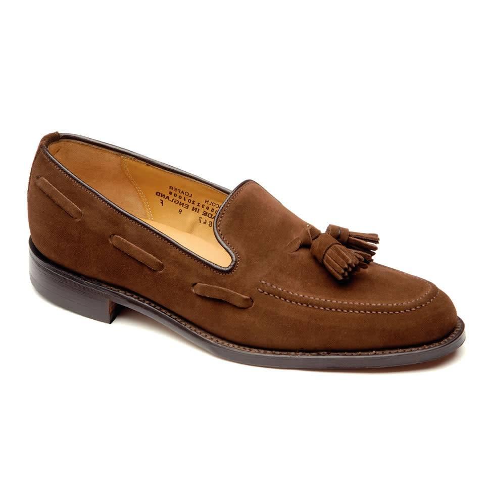 e69f9f082b591 Suede Tassel Loafers