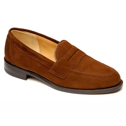 Eton - Suede Loafers