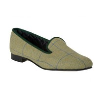 Ettrick Tweed Slippers