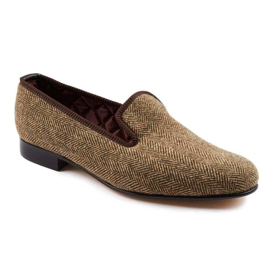 Deveron Tweed Slippers