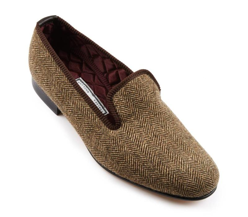 Deveron Tweed Slippers
