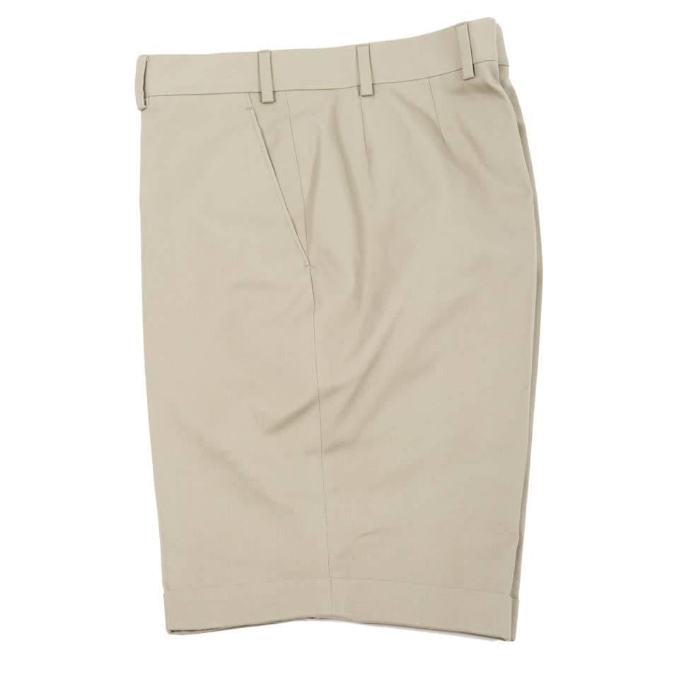 Cotton Shorts - Beige