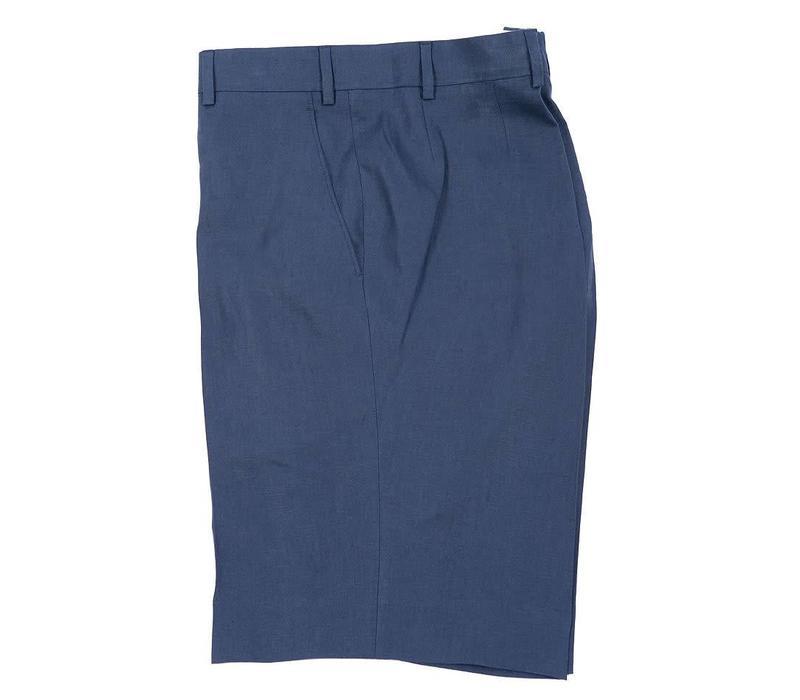 Linen Shorts - Navy 2018