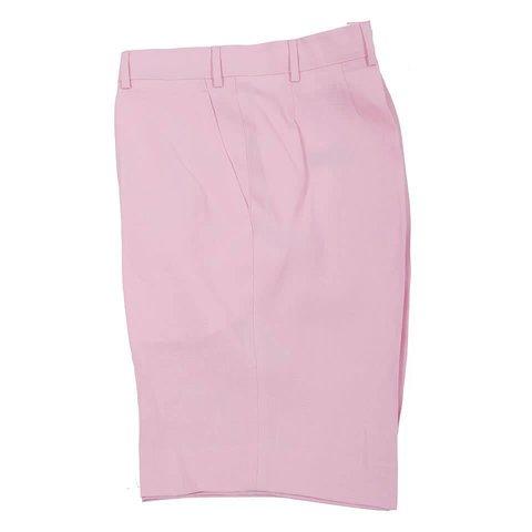 Linen Shorts - Pink