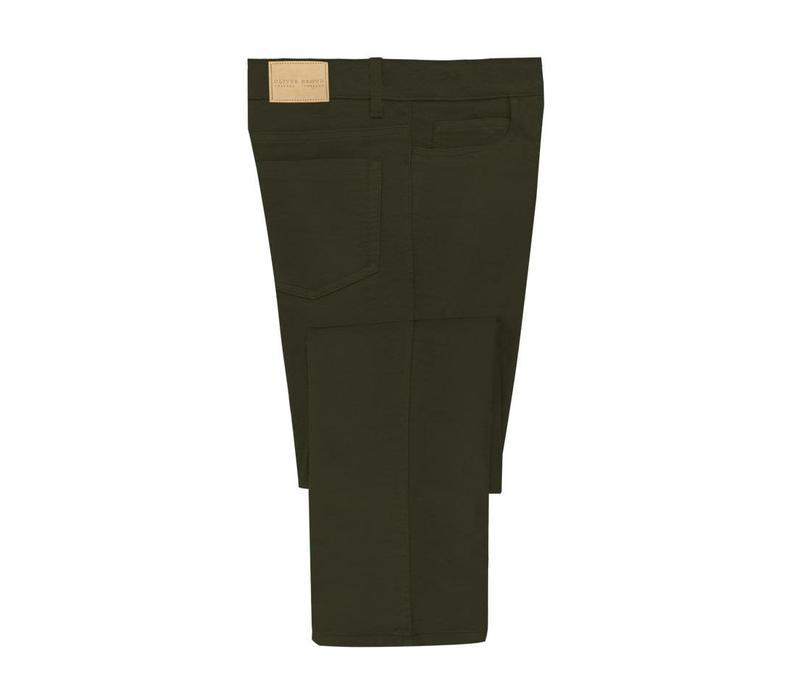 Moleskin Jeans - Olive