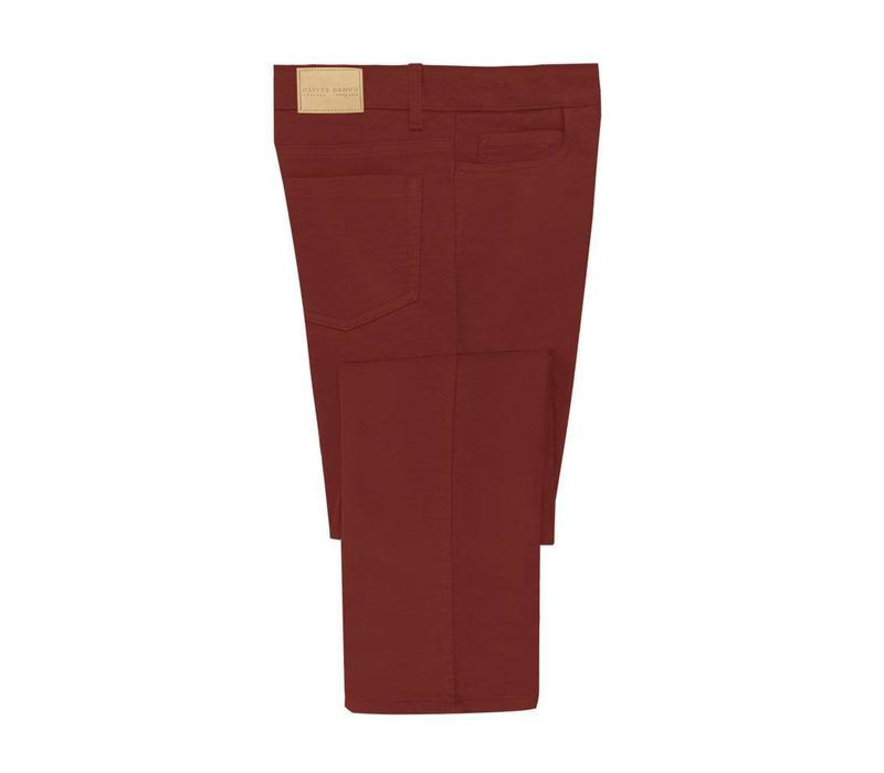 Moleskin Jeans - Red