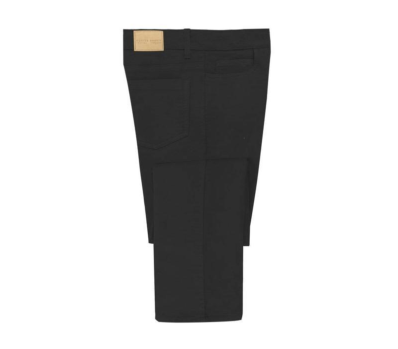 Moleskin Jeans, Pure Black